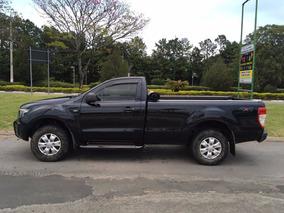 Ford Ranger Cs Xls 3.2 5 Cilindros 2013 Couro + Completa