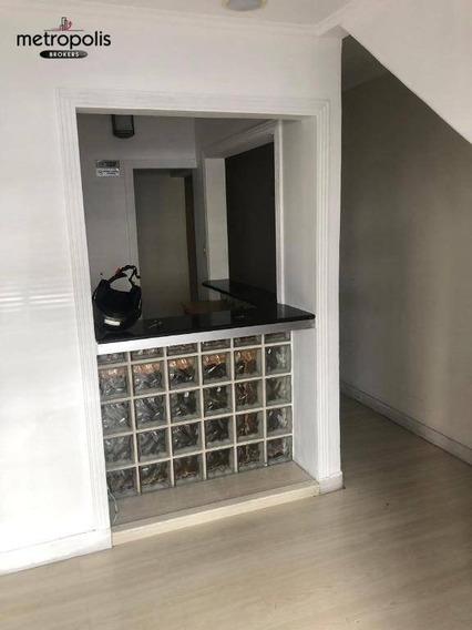 Salão Para Alugar, 200 M² Por R$ 4.000,00/mês - Santa Paula - São Caetano Do Sul/sp - Sl0068