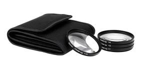 Kit Filtro Macro Close Up +1 +2 +4 +10 67mm 18-135mm 80d