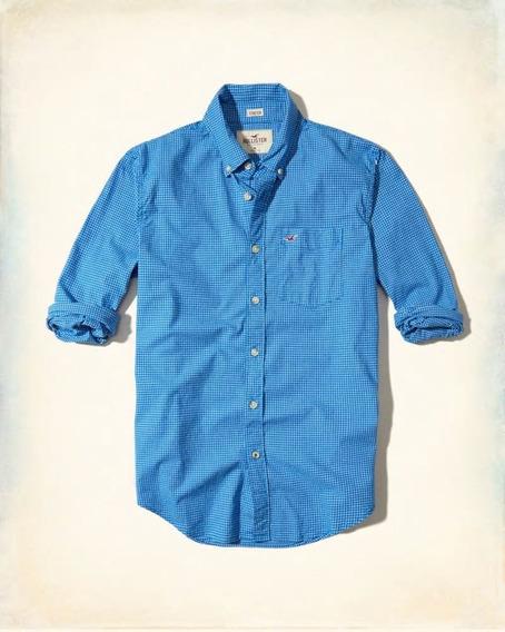 Camisa Social Hollister 100% Original