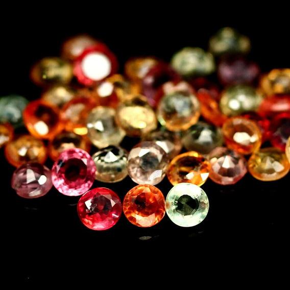 44 Zafiros Corte Diamante 7.69 Quilates