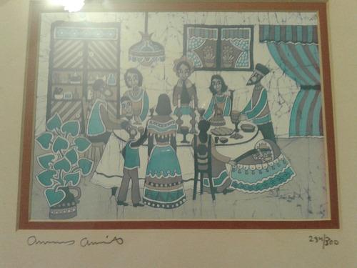 Cuadro Judío Serigrafía Amos Amit