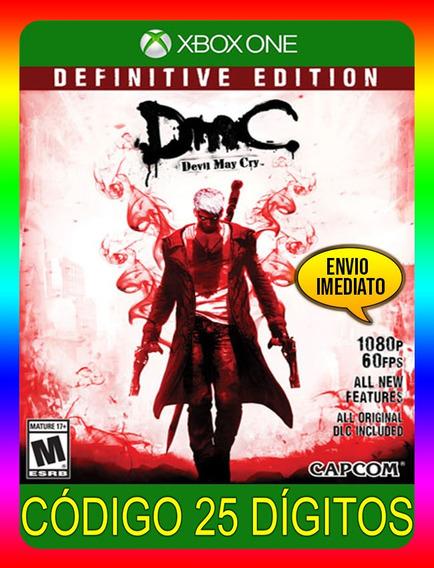 Devil May Cry Dmc Xbox One - 25 Dígitos (envio Já)