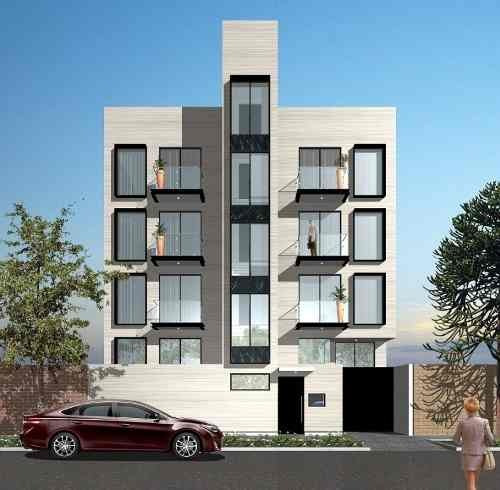 Exclusivos Departamentos, 185 M2, Roof Garden Privado, 3 Recamaras, 2 Cajones De Estacionamiento