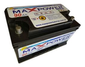 Bateria Náutica Maxpower Mariner 90ah Até 54 Lbs