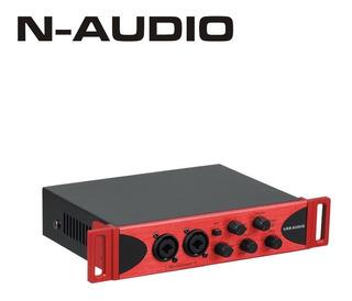 Placa De Audio Interface N-audiobox Usb 2x2 Rd Music Store