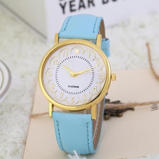 Relógio Feminino Otoky Azul Claro