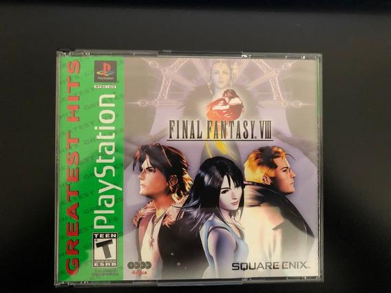 Final Fantasy Viii Para Playstation 1 Em Perfeito Estado