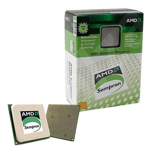 Imagem 1 de 1 de Processador 754 Sempron 2600 Box-amd Sda2600bxbox