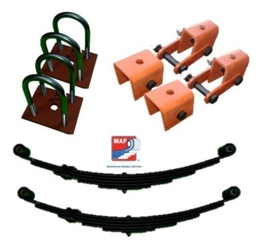 Kit De Suspension Completa Para Remolque 3500 Lb Muelles
