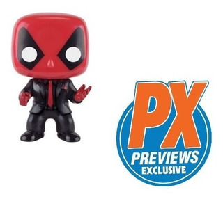 Funko Pop Deadpool Dressed To Kill 145 - Px Exclusive!