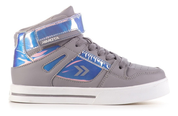 Zapatilla Casual Skate Niñas Atomik Magic Vulcanizada