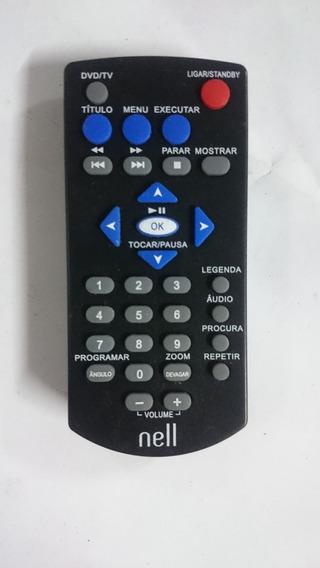 Controle Remoto Dvd Portátil Nell