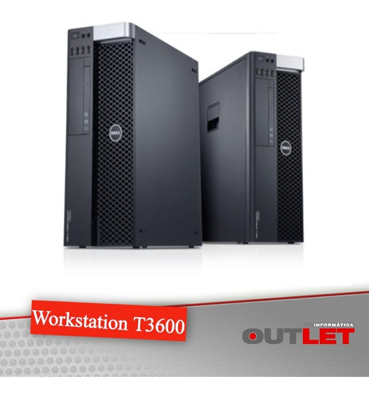 Workstation Dell Precision T3600 Xeon E5-1660 3.30ghz 16gb