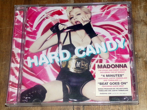 Madonna Hard Candy Cd Promo / Kktus