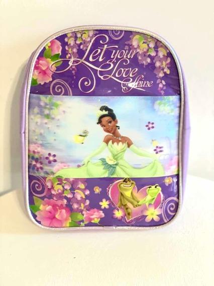Mochila Disney Original Importada Princesa Tiana V. Devoto