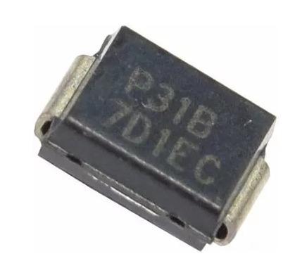 Fusível Smd 100a / 275v P3100sbrp - P31b - Emb. C/ 10 Pçs