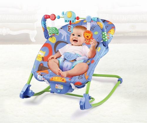 Cadeira Cadeirinha Bebê Descanso Vibra Musical Várias Cores
