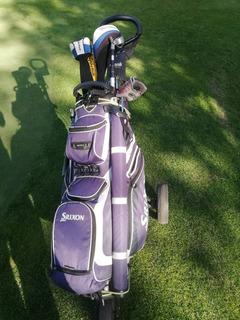 Set De Golf, Bolso, Carro, Palos