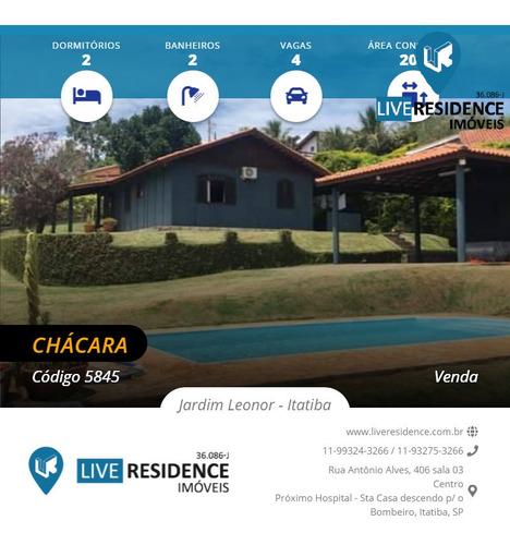 Imagem 1 de 15 de Bela Chácara No Jardim Leonor!!! Live Residence Vende - 5845