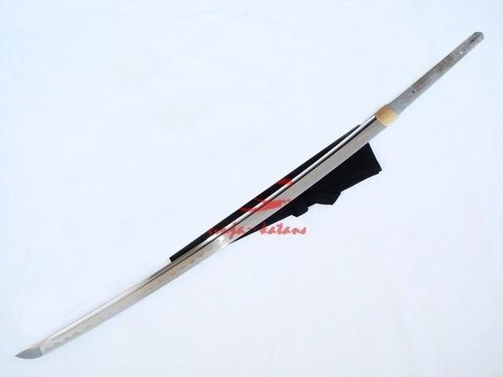 Lâmina Espada Katana Afiada Corte Funcional Aço 9260