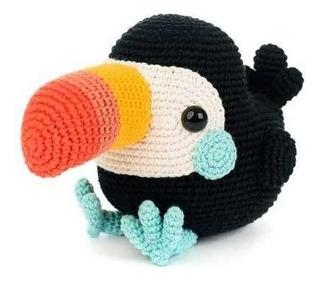 Tucán Amigurumi Crochet - Tienda Online Nariz De Azúcar
