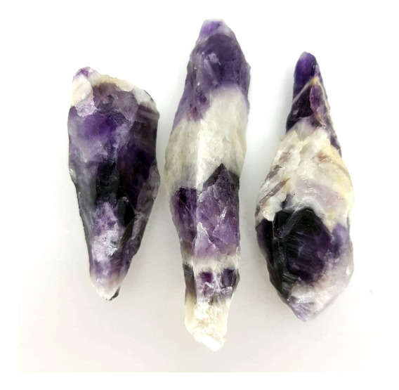 Cristal - Pedra Bruta - Ametista Chevron Energia Espiritual