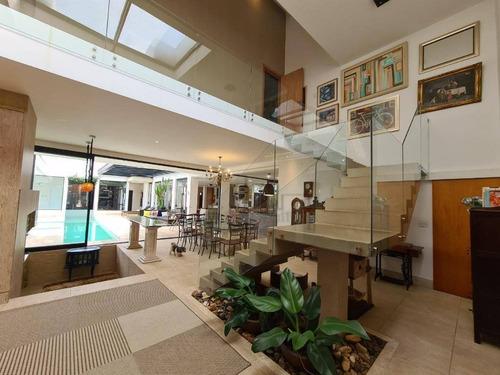 Imagem 1 de 29 de Casa Com 5 Dormitórios À Venda, 587 M² Por R$ 4.100.000,00 - Condomínio Residencial Giverny - Sorocaba/sp - Ca2433