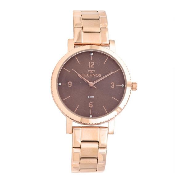 Relógio Technos Feminino Elegance Rose 2035mpt/4m C/nota