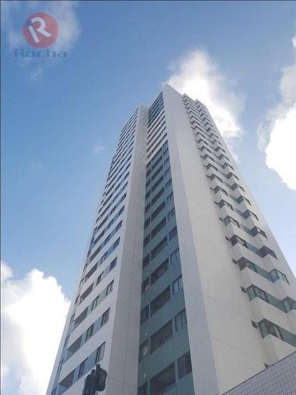 Apartamento Com 3 Dormitórios À Venda, 92 M² Por R$ 580.000 - Madalena - Recife/pe - Ap3331