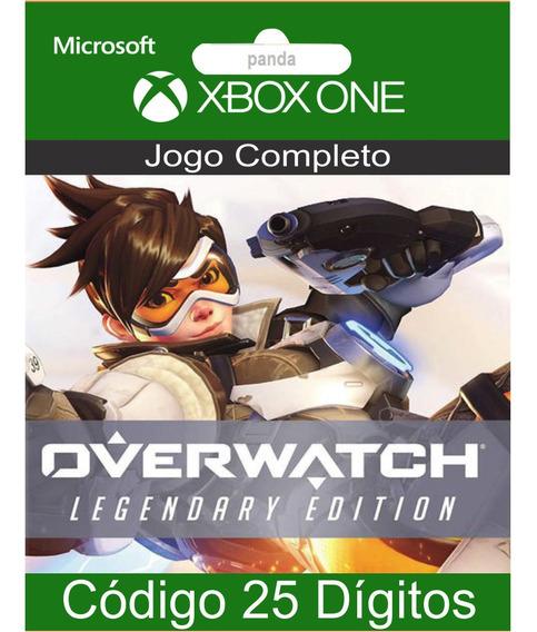 Overwatch Edição Lendária Codigo 25 Digitos Em 12x