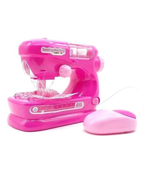 Máquina De Costura Infantil Som E Luzes Protetor 2 Carretéis