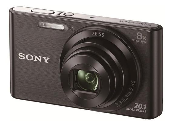 Kit Cámara Digital Sony W830 Con Mem. 16gb Y Estuche