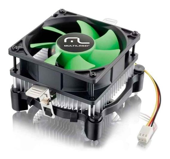 Cooler Universal Amd E Intel Multilaser Ga120 - Baixo Ruído
