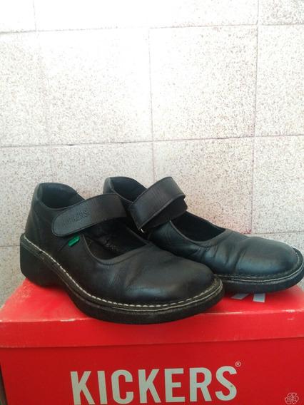 Zapatos Colegiales Kickers Para Niña Talla 39