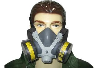Mascara Respirador Alltec 2 Filtros Vap Organicos Gases Acid