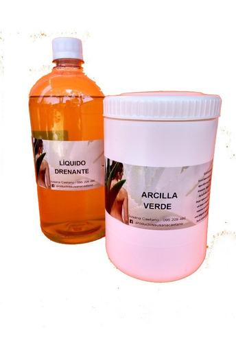 Adelgaza Eliminando Toxinas  ( Arcilla Verde) 1 Kg.