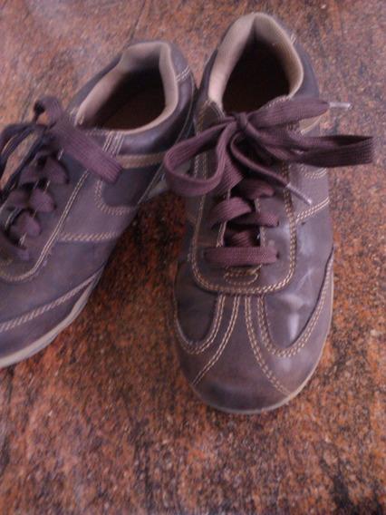 Zapatos Deportivos Talla 36 Color Marron