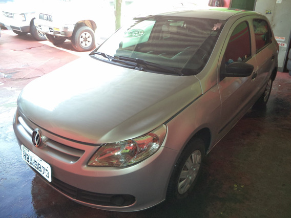 Volkswagen Gol Trend 1.0 Prata 2010