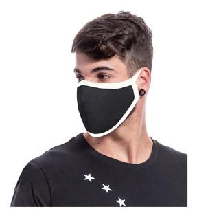 6 Máscaras Contra Virose E Poluição Lavável 100% Poliester