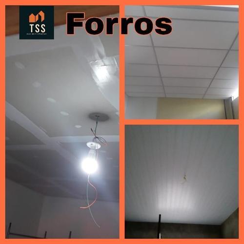 Imagem 1 de 3 de Forro Isopor Com Textura Instalado