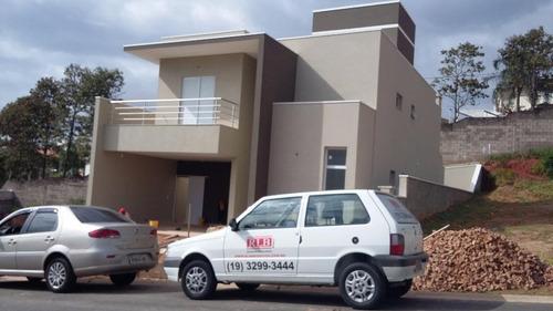 Casa Residencial À Venda, Condomínio Montalcino, Valinhos. - Ca1850