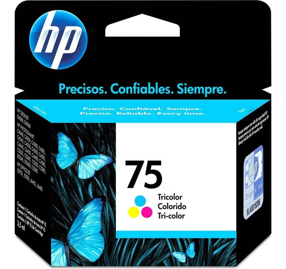 Cartucho Hp 75 Color 3,5ml - Cb337wb