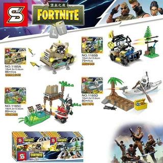 Muñecos Simil Lego Fortnite Mini Figura Bloque Niños - Nuevo