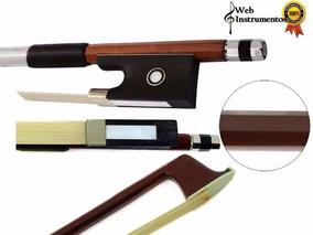 Arco Para Violino 4/4 Octagonal C/ Crina Animal