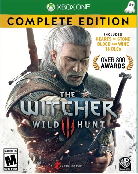 The Witcher 3 + 1 Jogo Brinde Xbox One - Garantia Vitalícia