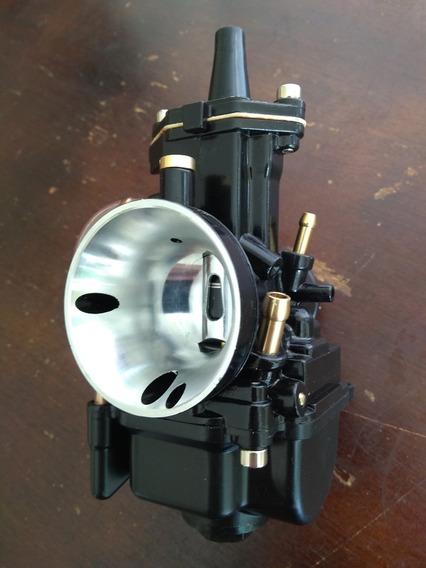 Carburador 28 Mm Black Competição Igual Koso Keihin Mikuni
