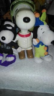 Lote De Muñeco Y Peluches Snoopy Coleccionables