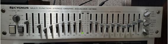 Equalizador Cygnus Ge 1800