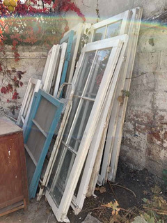 Puertas Ventanas Antiguas De Raulí